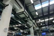 减震器生产车间吊顶除湿机